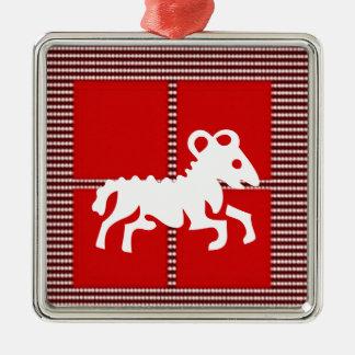 ZODIAC ARIES Jyotish  Astrology Christmas Tree Ornament