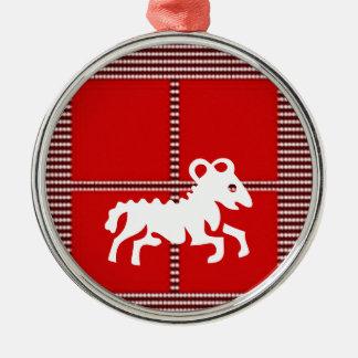 ZODIAC ARIES Jyotish  Astrology Christmas Ornaments