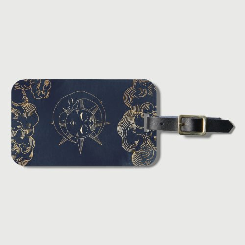 Zodiac, Astrology, Poster Moon Sun Stars Phone cas Luggage Tag