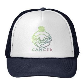 Zodiac, astrology signs-Cancer Trucker Hats