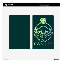 Zodiac, astrology signs-Cancer Skin For Kindle Fire