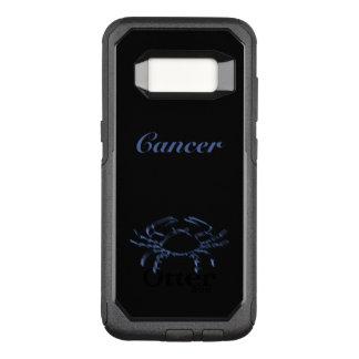 Zodiac Astrology Sun Sign Cancer Crab Steel Blue OtterBox Commuter Samsung Galaxy S8 Case