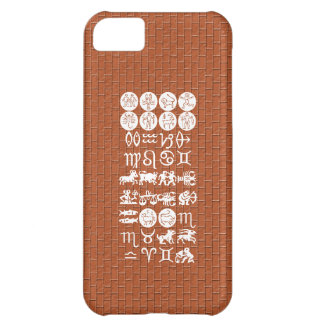 Zodiac Astrology Symbol : BirthStar Goodluck Charm iPhone 5C Covers