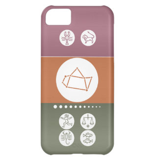 Zodiac Astrology Symbol : BirthStar Goodluck Charm Cover For iPhone 5C