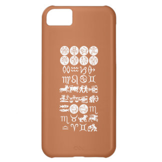 Zodiac Astrology Symbol : BirthStar Goodluck Charm iPhone 5C Cover