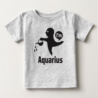 Zodiac Baby Tees-Aquarius Baby T-Shirt