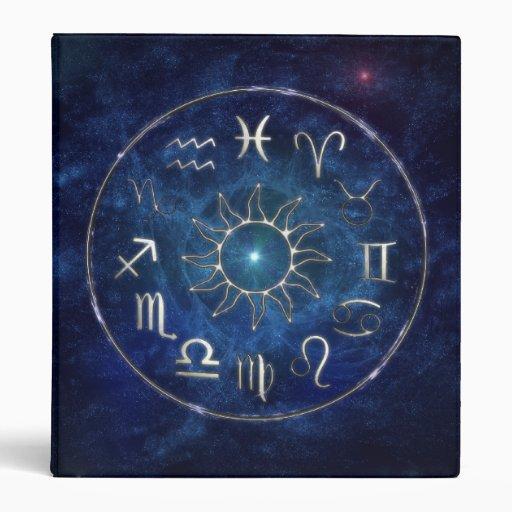 Zodiac 3 Ring Binders
