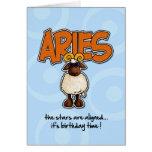 Zodiac Birthday - Aries Greeting Card