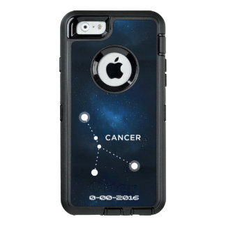 Zodiac Birthday, Astrology Cancer OtterBox Defender iPhone Case