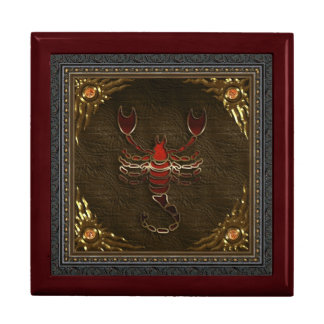 Zodiac Box - Scorpio Keepsake Box