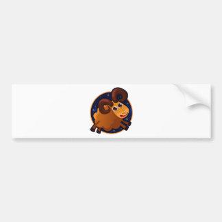 Zodiac Car Bumper Sticker