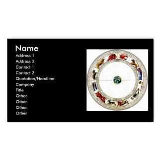Zodiac Business Card