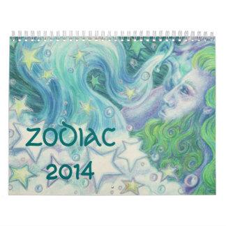 Zodiac Calendar 2014