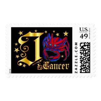 Zodiac-Cancer-Font-Design-1-J Postage