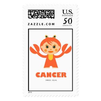 Zodiac Cancer for Kids Postage