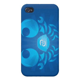 Zodiac Cancer iPhone Case iPhone 4 Cases