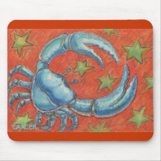 Zodiac Cancer mousepad