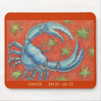 Zodiac Cancer mousepad dates