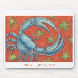 Zodiac Cancer mousepad white border