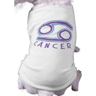 Zodiac Cancer Pet T-Shirt