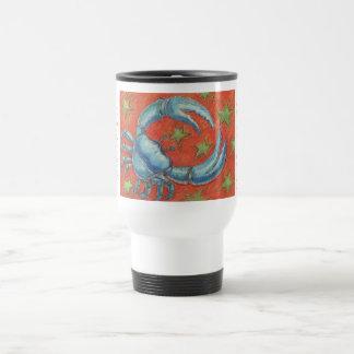 Zodiac Cancer travel/commuter mug