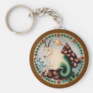 Zodiac Capricorn - Customize it! Basic Round Button Keychain