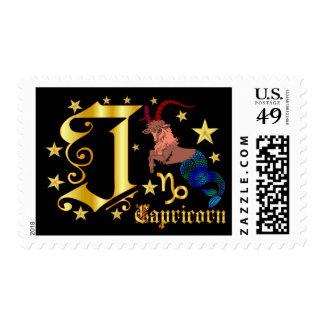 Zodiac-Capricorn-Font-Design-2-J Postage