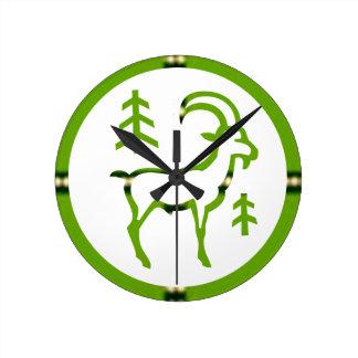 ZODIAC CAPRICORN Jyotish  Astrology Wall Clock