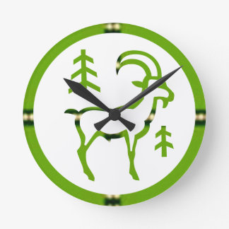 ZODIAC CAPRICORN Jyotish  Astrology Round Clock