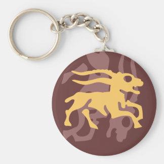 zodiac capricorn keychain
