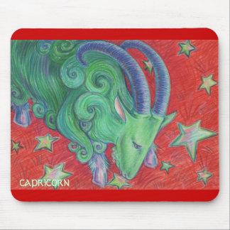 Zodiac Capricorn mousepad