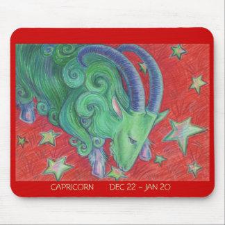 Zodiac Capricorn mousepad dates