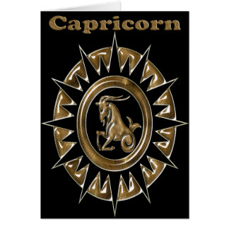 zodiac card