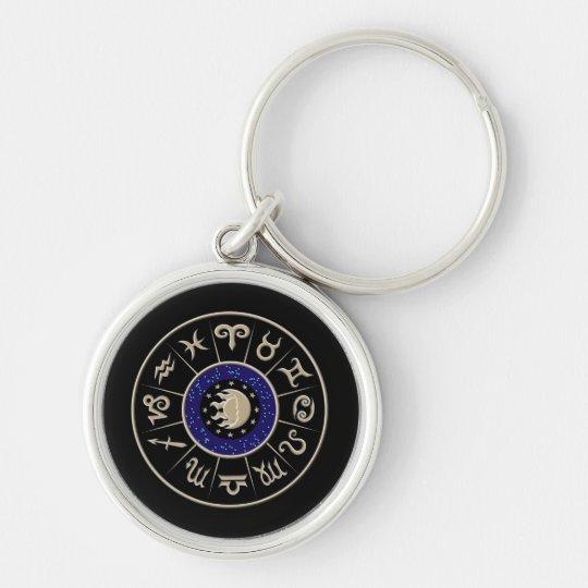 Zodiac Circle Keychain