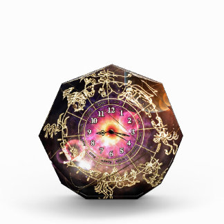Zodiac Clock Acrylic Award
