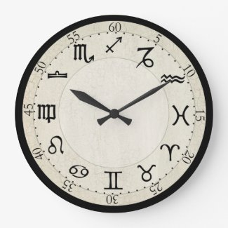 Zodiac Clock - Customize Me