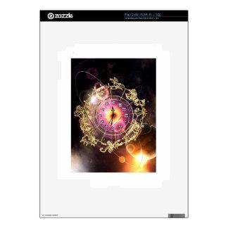 Zodiac Clock iPad 2 Skins