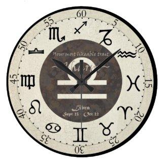 Zodiac Clock - Libra