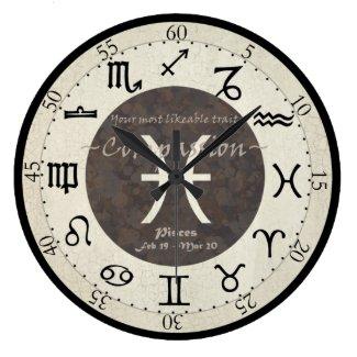 Zodiac Clock - Pisces