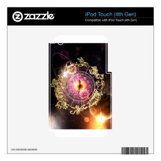 Zodiac Clock Skin For iPod Touch 4G