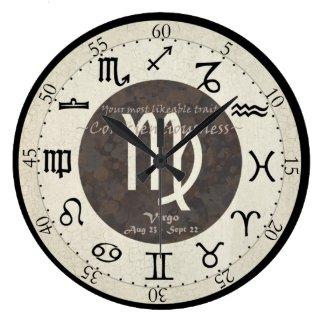 Zodiac Clock - Virgo