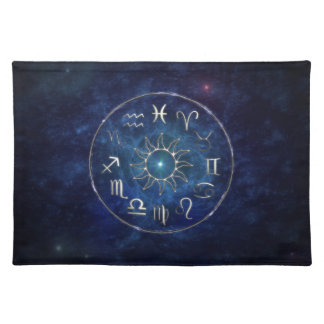 Zodiac Cloth Placemat