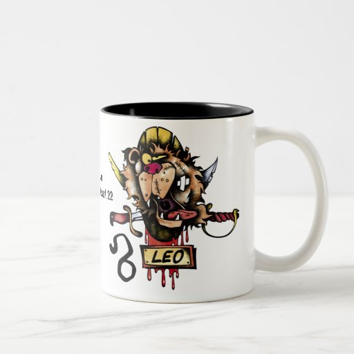Zodiac Coffee Mug The Lion July 23 to August 22