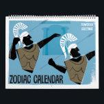 "Zodiac Designs Calendar<br><div class=""desc"">Aries Ram Fire Sign zodiac birthday astrology horoscope star sign for March</div>"