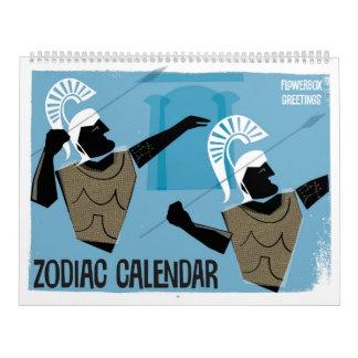 Zodiac Designs Calendar