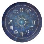 Zodiac Dinner Plate