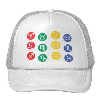 Zodiac Element Symbol Trucker Hat