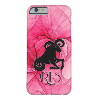 Zodiac for Her Aries Star Sign in Pink Barely There iPhone 6 Case