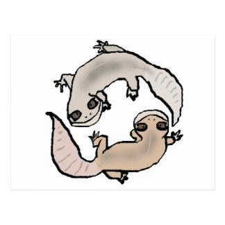 Zodiac Gecko - Cancer Postcard