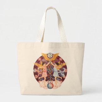 Zodiac Gemini Canvas Bag
